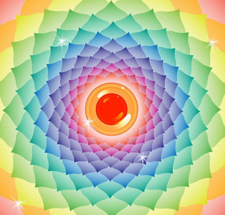 Bright Eye Mandala - First Gate