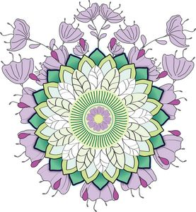 The Flower's Seed Mandala