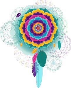 Color Flood Mandala