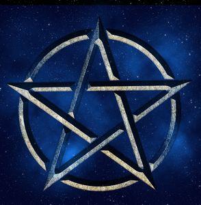 Blue Space Pentagram