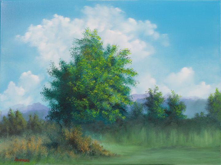 Landscape in Oil - Steve Armstrong Art