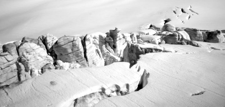 Canadian Crevasse - Jean Macaluso Fine Art