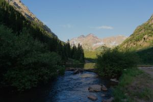 Creek To Mountain - Jean Macaluso Fine Art