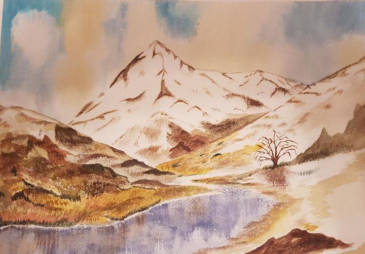 Himalayan stream - Shankar Kashyap
