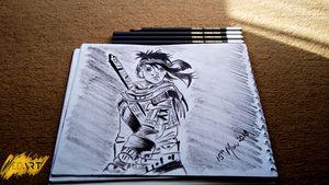 warrior Sketch