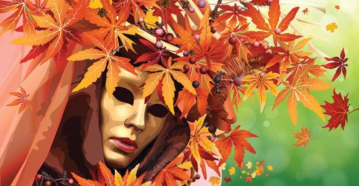 Venetian Mask - NikaLim