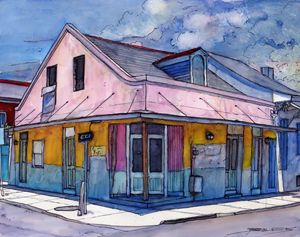 French Quarter Corner - The French Quarter Gallery