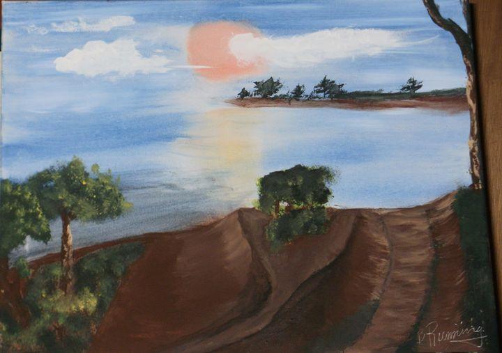 Seaside Path - Brents Art
