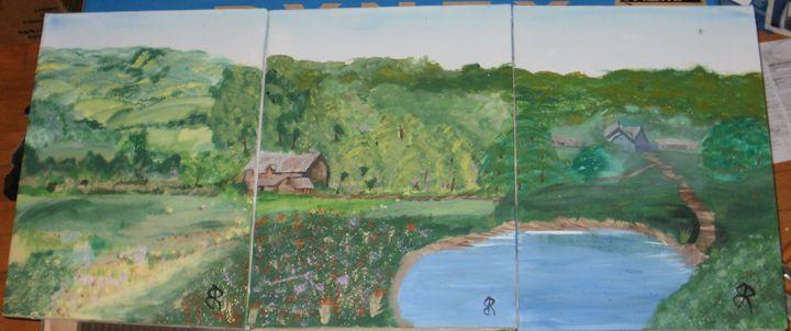 Ontario Farm - Brents Art