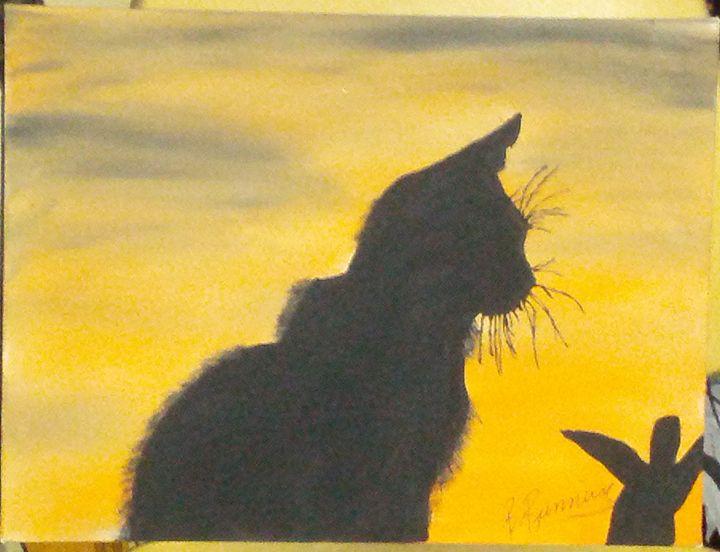 Cat - Brents Art