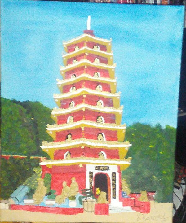 temple of 10000 budahs - Brents Art