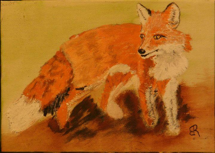 Red Fox - Brents Art