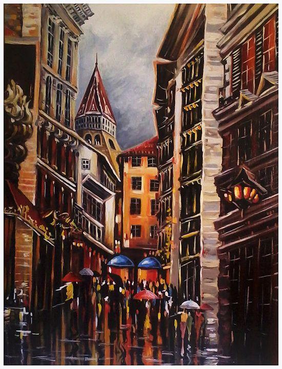 City scape - Vadim Kostyoushko