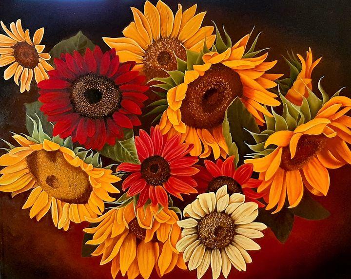 Sunflowers - Ana Isac