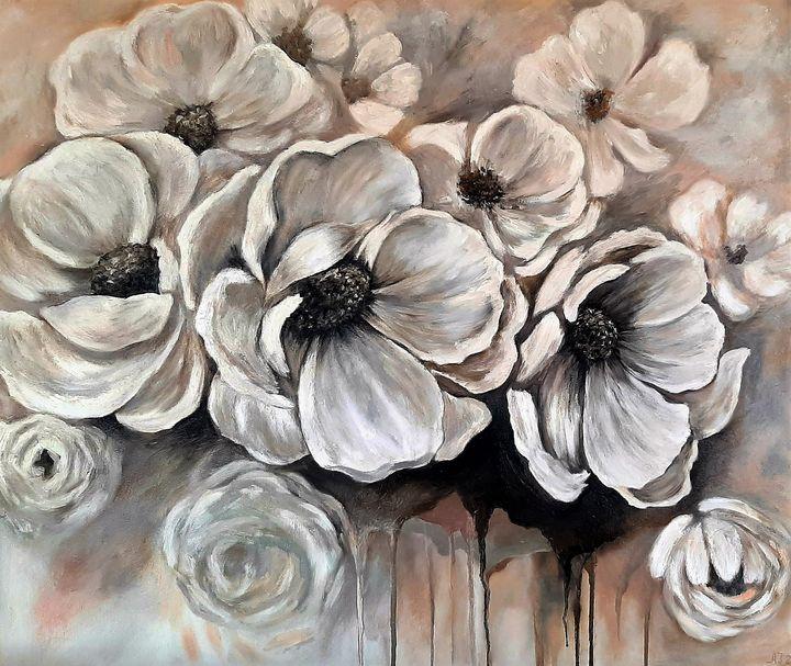 White flowers - Ana Isac