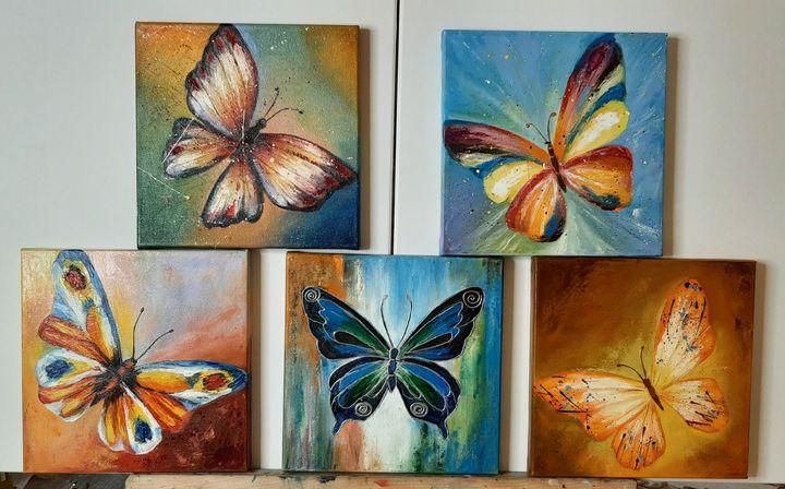 Butterflies - Ana Isac