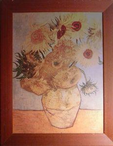 1962 Replica / Van Gogh Sunflowers