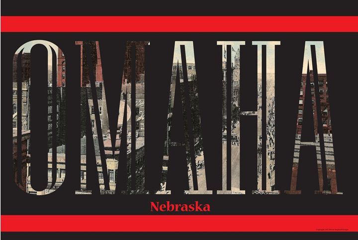 Omaha Postcard Letters - Moore Inspired Design-Brian Moore