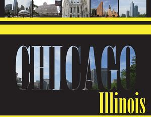 Chicago Illinois Letters - Moore Inspired Design-Brian Moore