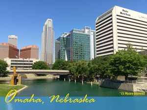 Omaha Skyline Photo - Moore Inspired Design-Brian Moore