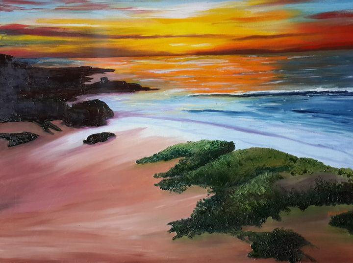 Sunset beach - Maurae