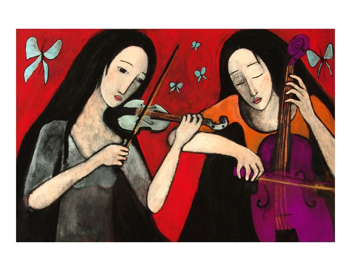 Winged music - Amalia Low
