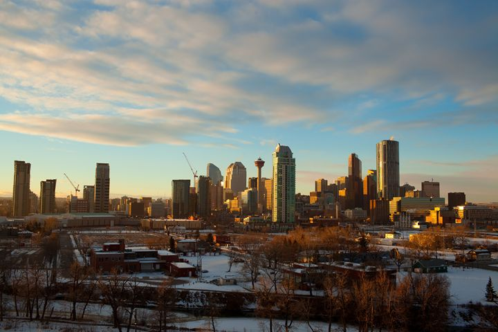 Calgary Sunset - IONclad Gallery