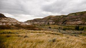 overcast badlands