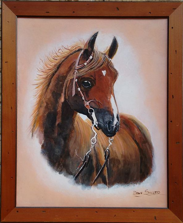 Chestnut Horse - Dawn's Art