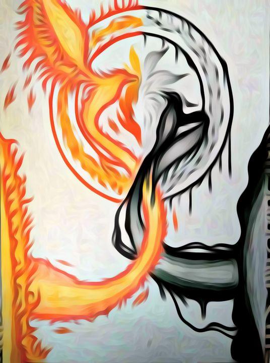 Phoenix vs Raven - JadedRose Art