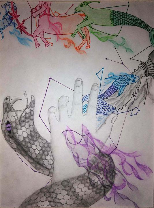 Forgotten Sign - JadedRose Art