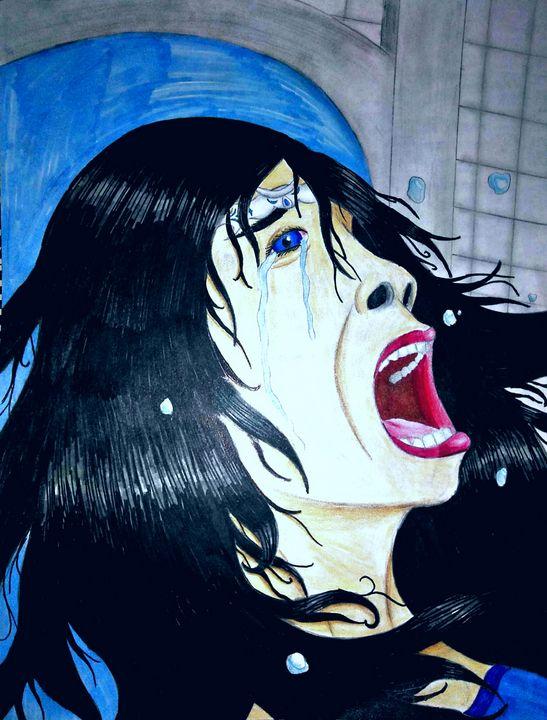 Sad Queen - JadedRose Art