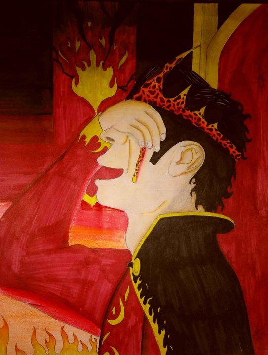Mad King - JadedRose Art