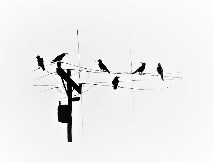 Crow Composition - R.C Chacon