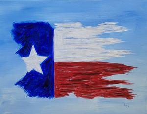 Texas Flag - Lee Nelson