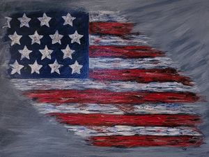U S Flag - Lee Nelson