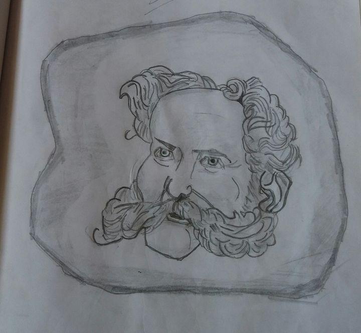 Man with beard - Creative arts