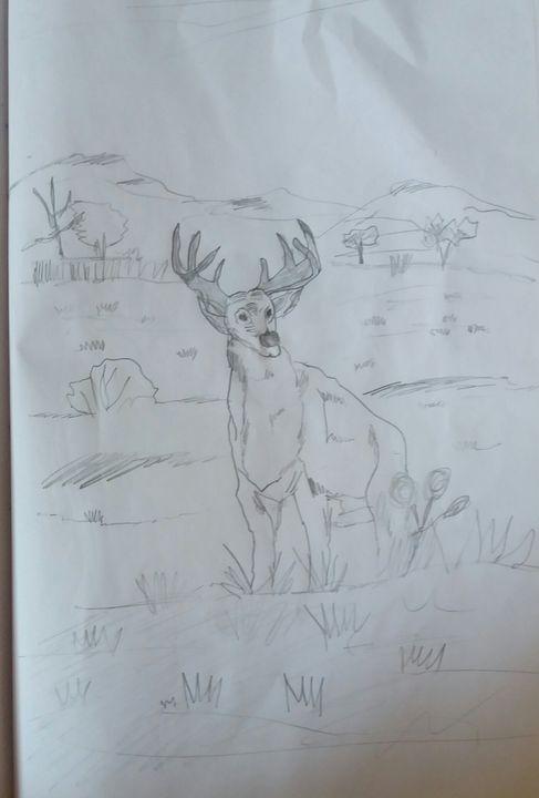 Deer - Creative arts