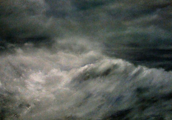 Crashing wave - PaulRowe