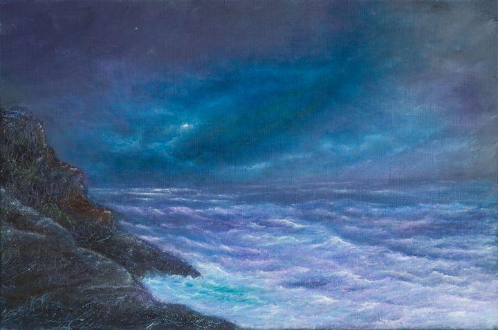 purple night - PaulRowe