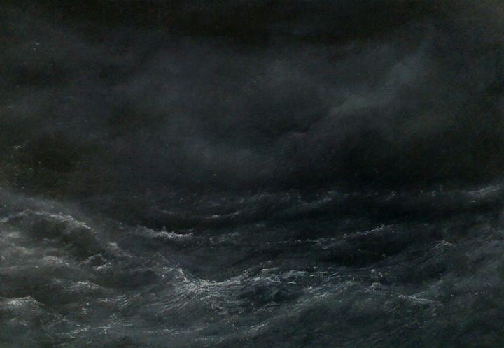 Evening sea - PaulRowe