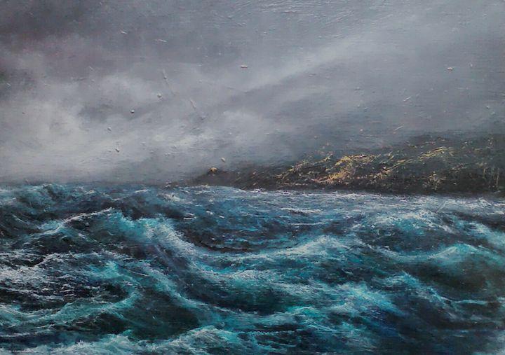 Storm headland - PaulRowe