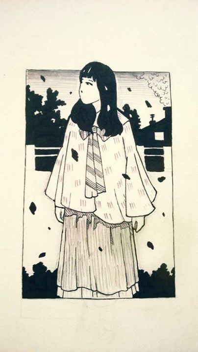 The girl of Fall - Oro