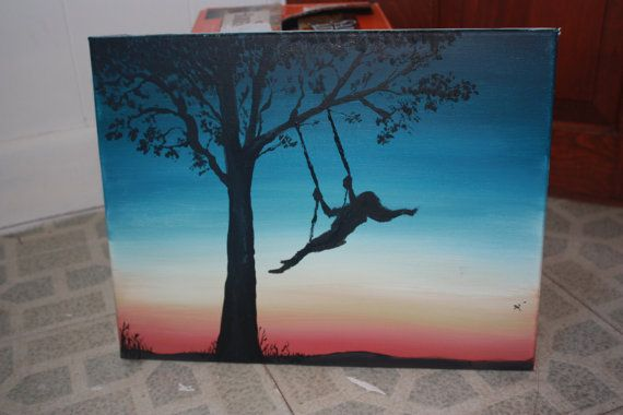 Girl on Swing - smARTart by McSwish