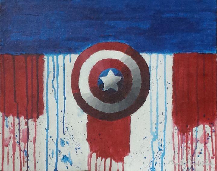 Captain's Shield - M. Carlson