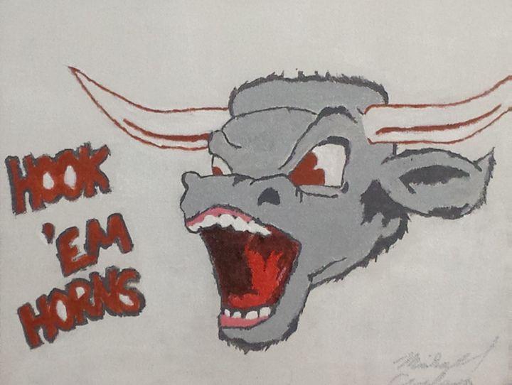 Hook Em Horns - M. Carlson