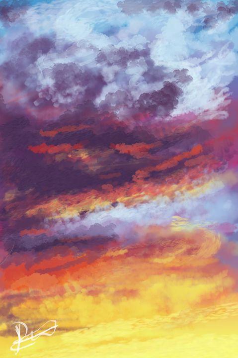 Sunset - Lasile Art