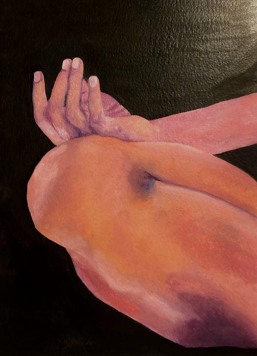 """Breathe""- ORIGINAL - Del Angel Art"