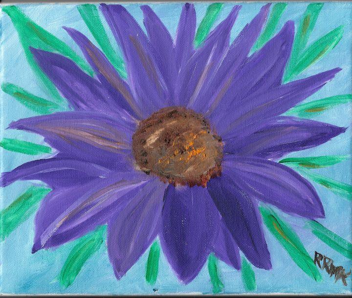 Purple flower - Rebecca Magurean