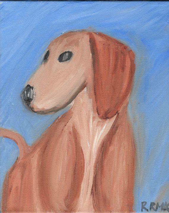 A dog - Rebecca Magurean